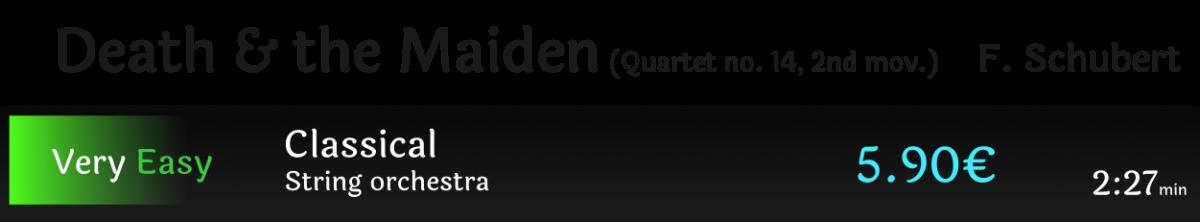 Death & the Maiden Schubert
