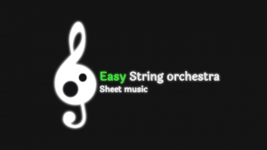 easy string orchestra sheet music