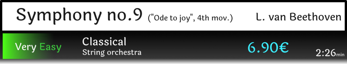 Symphony 9 Ode to Joy Beethoven