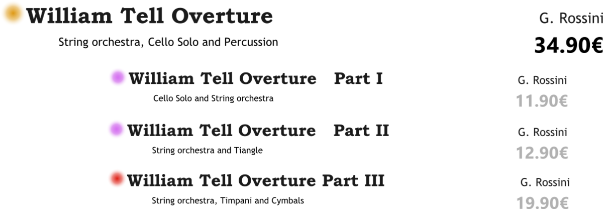 William Tell Overture PACK